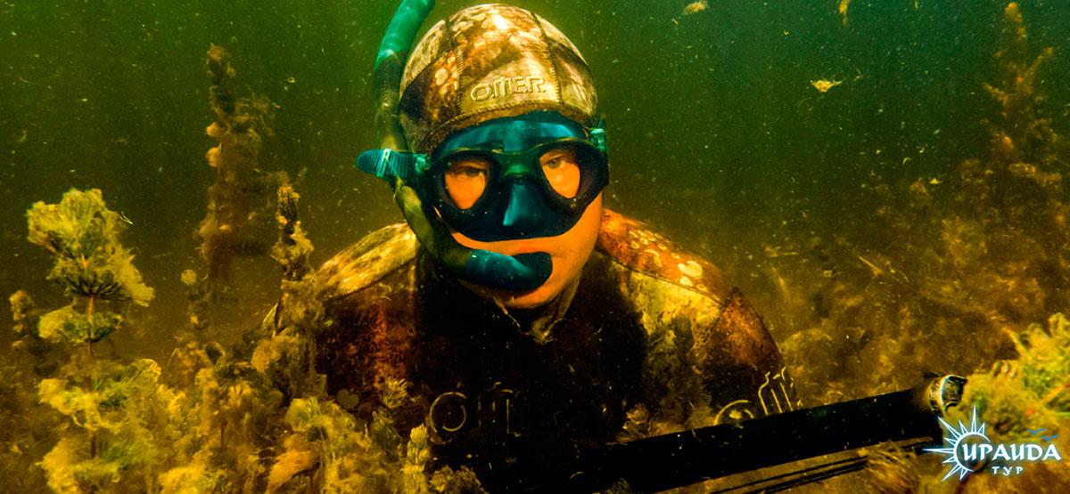 подводная охота на толстолоба видео новинки
