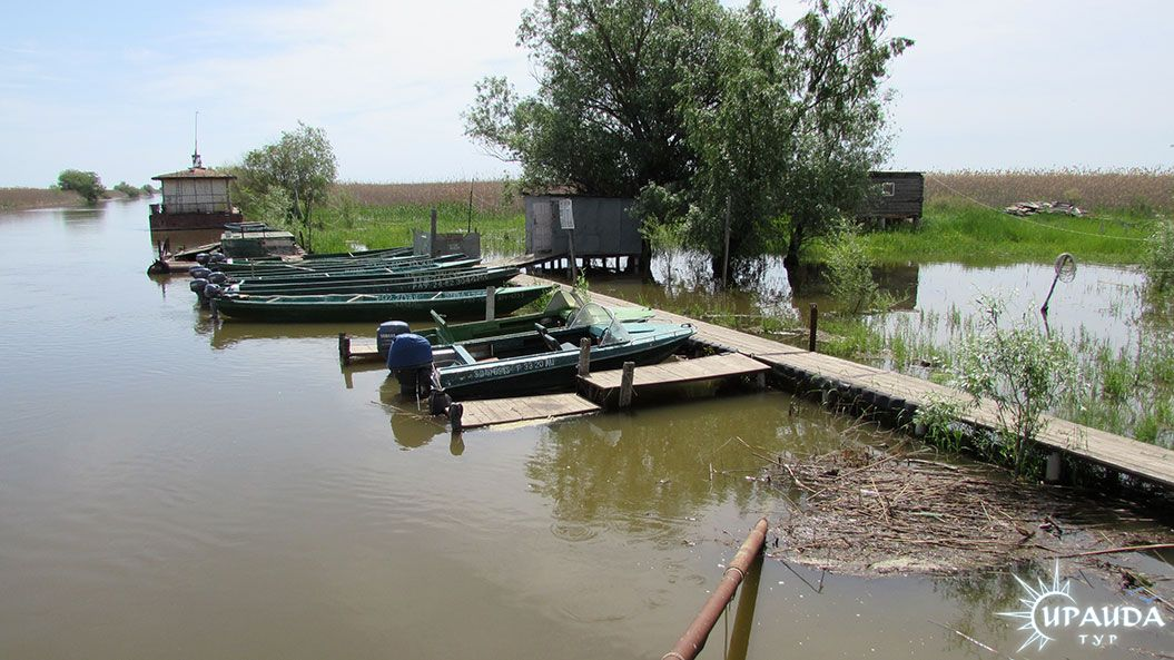 стоянка для лодок в сургуте